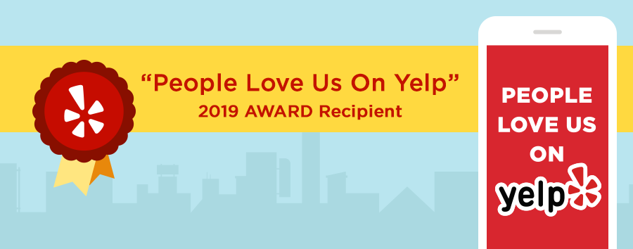 "Dr. Jonathan Frank receives ""People Love Us On Yelp"" 2019 Award"